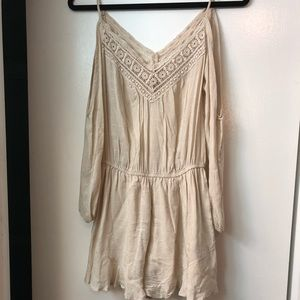 Urban Outfitters Cold Shoulder Romper